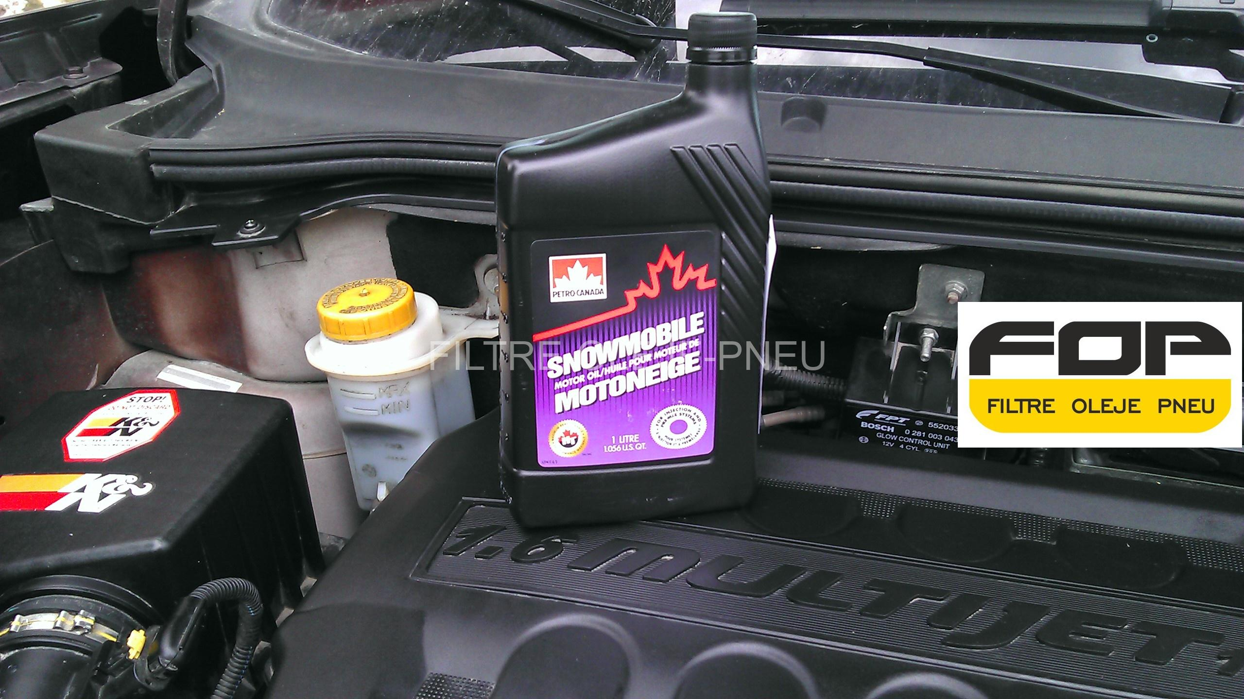 PETRO-CANADA SNOWMOBILE motor oil 1L